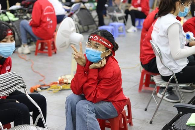 Sinh viên Đại học Y dược Thái Nguyên: Giọt máu cho đi là giọt máu còn mãi ảnh 5