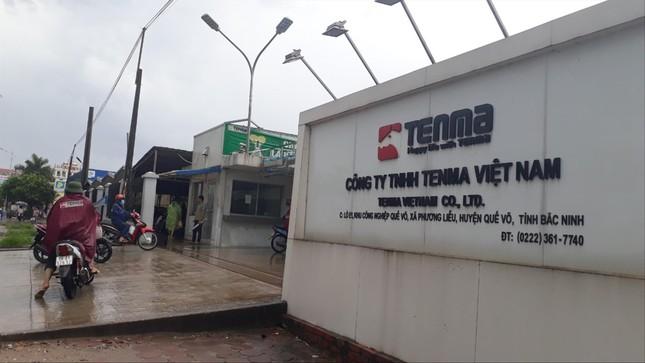 Nghi vấn hối lộ tại công ty Tenma: Đình chỉ công tác nhiều cán bộ liên quan ảnh 1