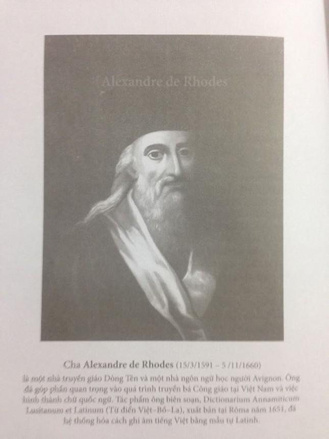 Ngược nguồn chữ Việt, Kỳ 2: Đi tìm mộ Alexandre de Rhodes ảnh 1