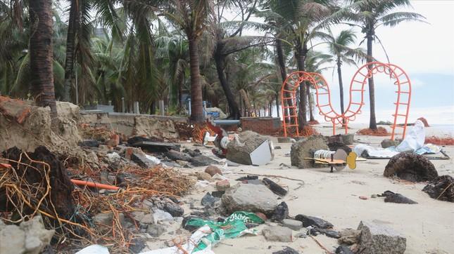 Bão số 13 gây thiệt hại nặng khu vực ven biển ảnh 2
