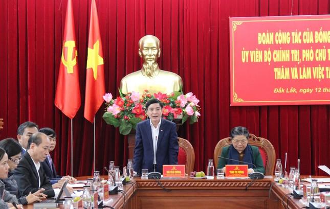 Phó Chủ tịch Quốc hội Tòng Thị Phóng làm việc với Tỉnh ủy Đắk Lắk ảnh 1