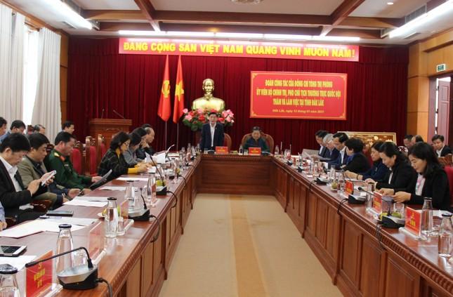 Phó Chủ tịch Quốc hội Tòng Thị Phóng làm việc với Tỉnh ủy Đắk Lắk ảnh 2