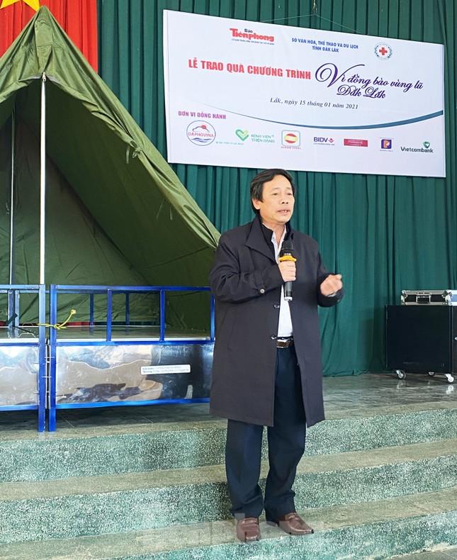 Báo Tiền Phong và tỉnh Đắk Lắk tiếp tục hỗ trợ vùng 'rốn lũ' Đắk Liêng ảnh 1