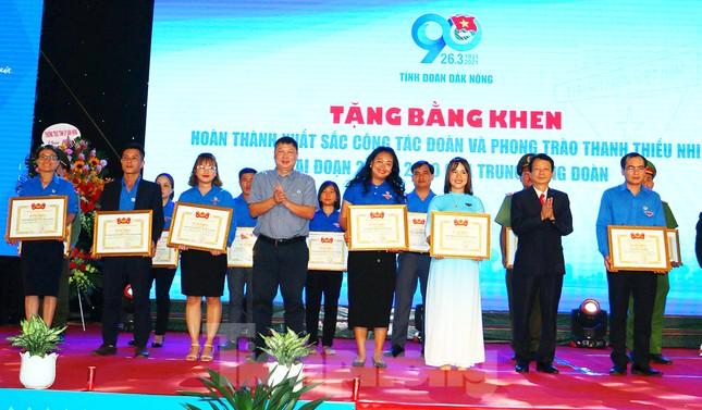 Tỉnh đoàn Đắk Nông tổ chức lễ kỷ niệm 90 năm ngày thành lập Đoàn ảnh 1