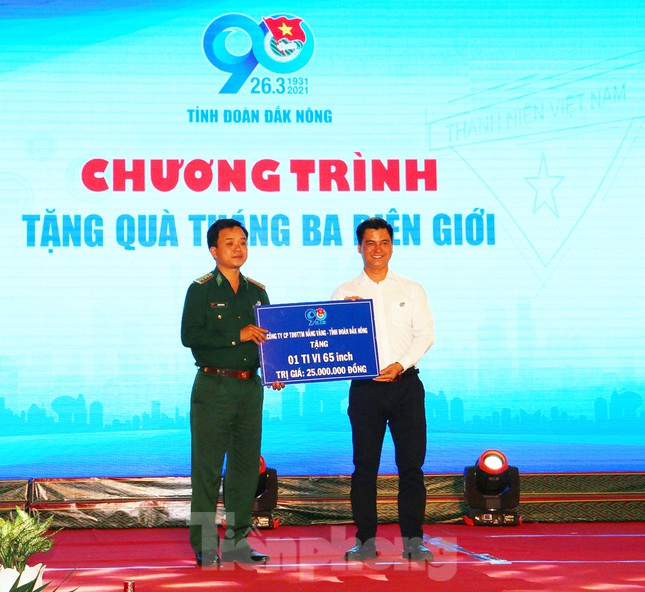 Tỉnh đoàn Đắk Nông tổ chức lễ kỷ niệm 90 năm ngày thành lập Đoàn ảnh 2