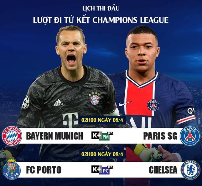 Lịch thi đấu Champions League 7/5: PSG đòi nợ Bayern? ảnh 2