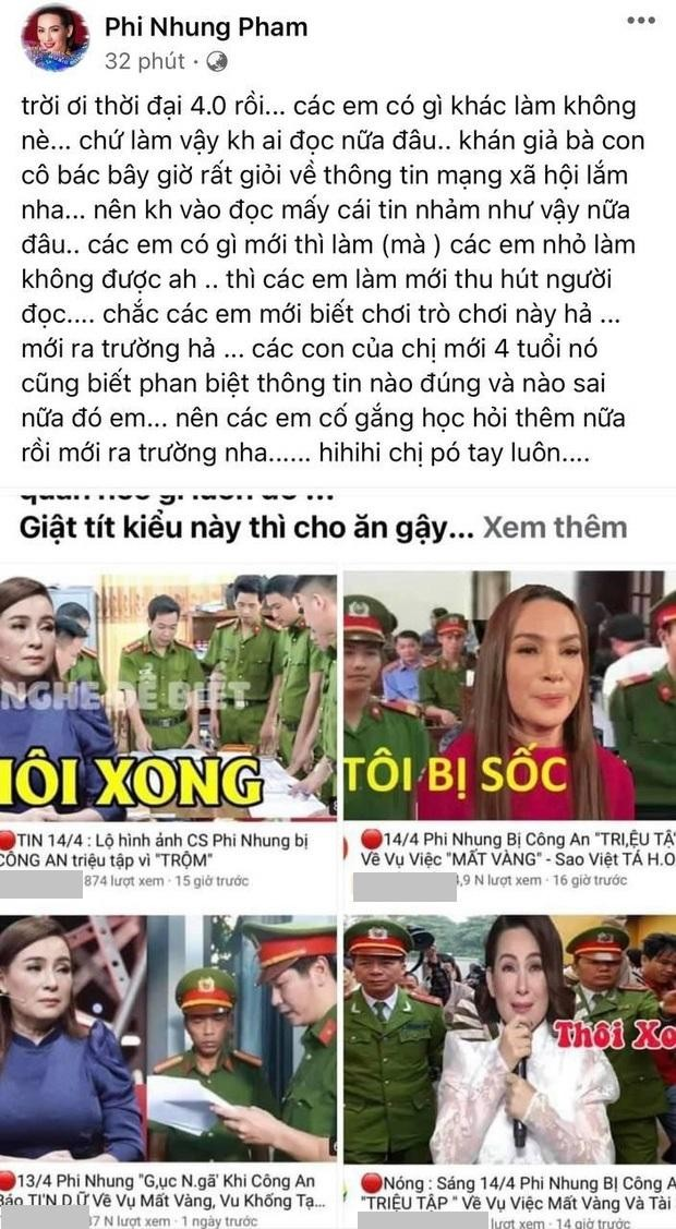 Phi Nhung phản ứng gay gắt khi bị tung tin công an triệu tập vì trộm trong đêm nhạc ảnh 1