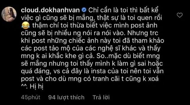 Bị chỉ trích 'sao ra thăm mộ lại nghiêng ngả như vậy', Khánh Vân nói 'không làm gì sai' ảnh 3