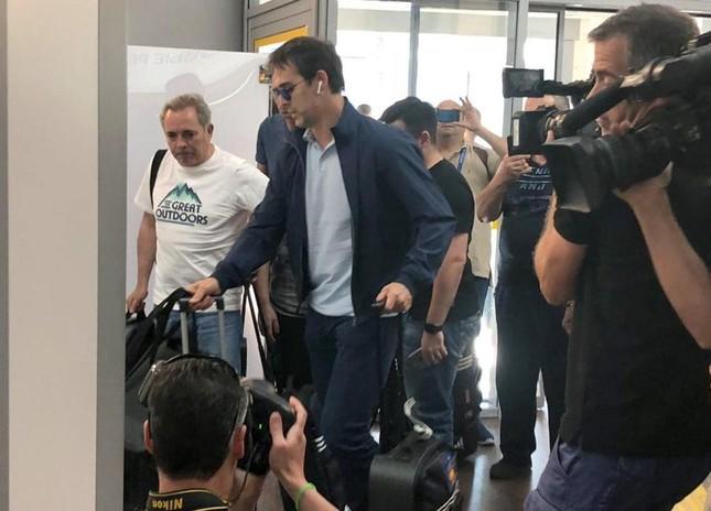 Dàn sao Tây Ban Nha buồn thiu trong buổi tập với HLV mới ảnh 9
