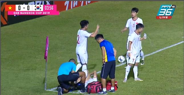 VAR từ chối phạt đền, U19 Việt Nam thua sát nút Hàn Quốc ảnh 1