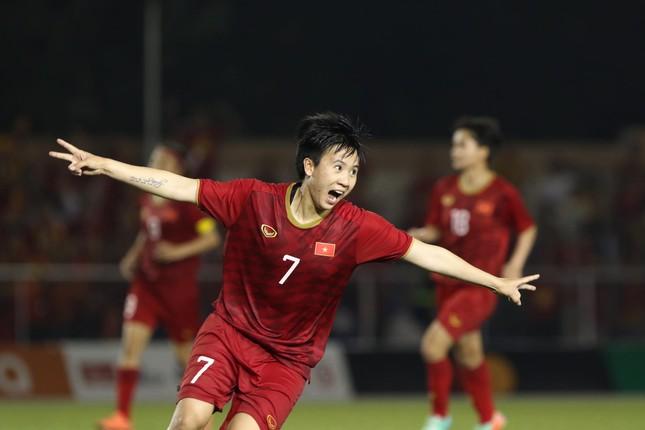 Tuyển nữ Việt Nam tái đấu với Thái Lan ở chung kết SEA Games 30 ảnh 12