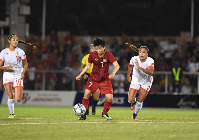 Tuyển nữ Việt Nam tái đấu với Thái Lan ở chung kết SEA Games 30 ảnh 8