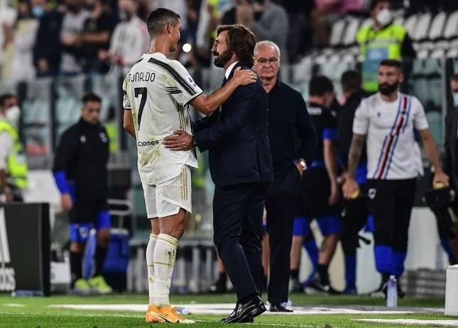 Ronaldo lập công, Juventus thắng dễ ở trận ra mắt Pirlo ảnh 1