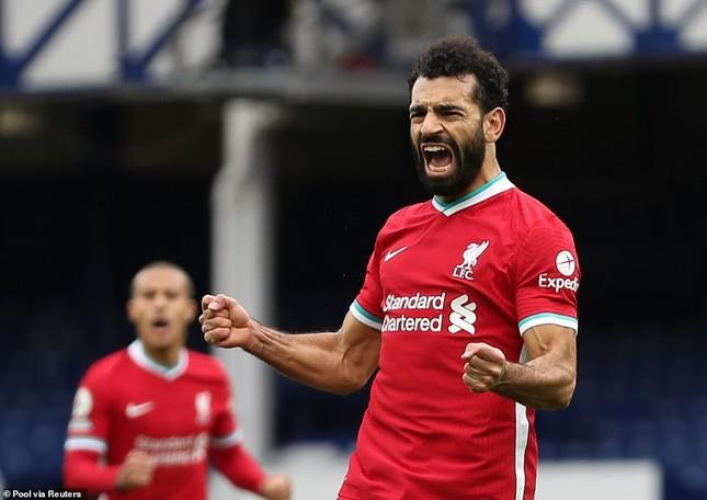 VAR gây tranh cãi, Liverpool chia điểm kịch tính với Everton ảnh 2