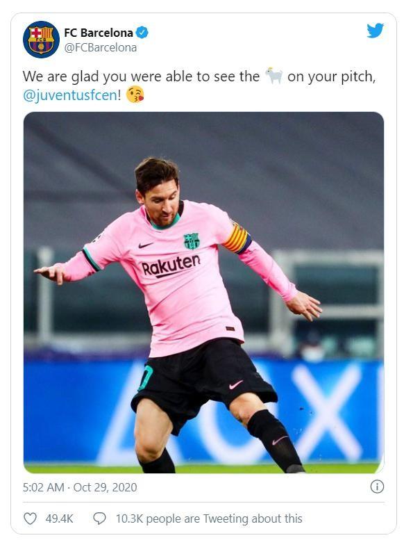 Messi tỏa sáng đánh bại Juventus, Barca vội 'cà khịa' Ronaldo ảnh 1