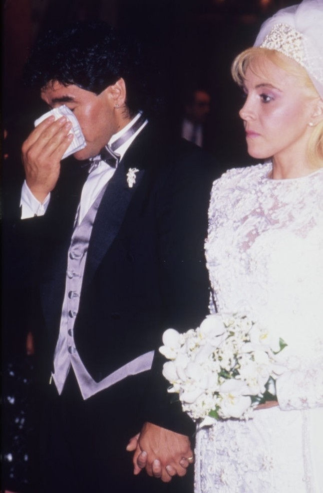 Diego Maradona: Khi người đàn ông khóc ảnh 1