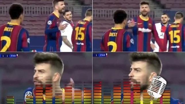 Barca thảm bại, Griezmann và Pique chửi nhau ngay trên sân ảnh 1