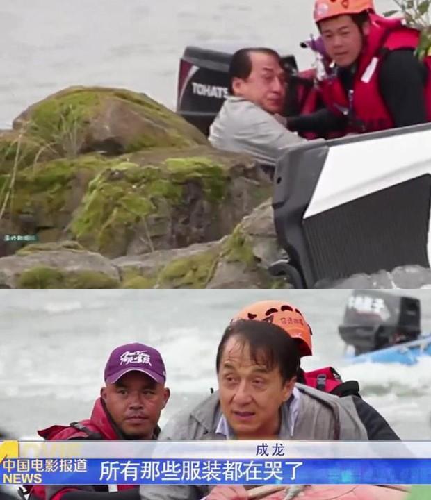 Thành Long suýt chết đuối trong cảnh quay mạo hiểm khiến ê-kíp làm phim sợ hãi phát khóc ảnh 3