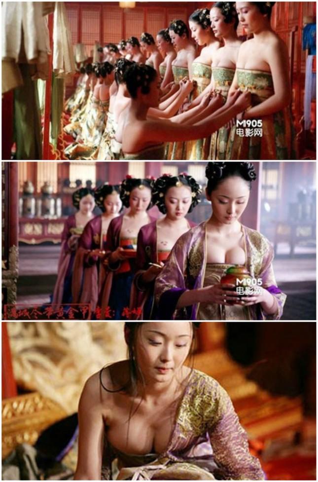Những phân cảnh hở bạo trong 'Hoàng Kim Giáp' của Củng Lợi ảnh 1