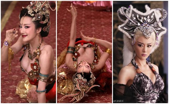 Nóng mắt với độ khêu gợi của 'nàng Đát Kỷ hở hang nhất màn ảnh Hoa ngữ' ảnh 1