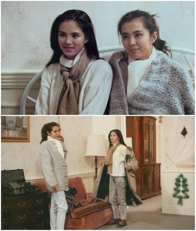 Ảnh hiếm của hai đại mỹ nhân Hồng Kông Lý Nhược Đồng và Vương Tổ Hiền 31 năm trước ảnh 1