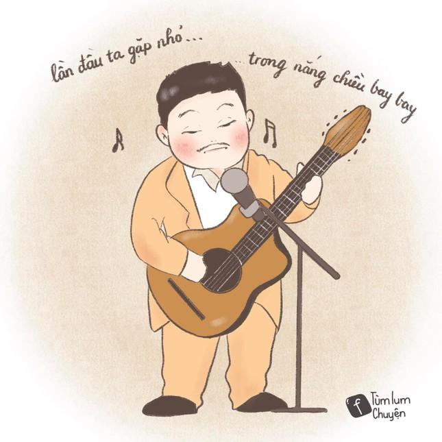 Bộ tranh vẽ từng vai diễn để đời của nghệ sĩ Chí Tài gây xúc động ảnh 3