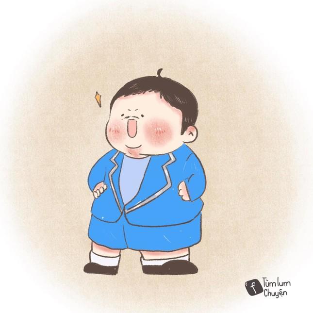 Bộ tranh vẽ từng vai diễn để đời của nghệ sĩ Chí Tài gây xúc động ảnh 11