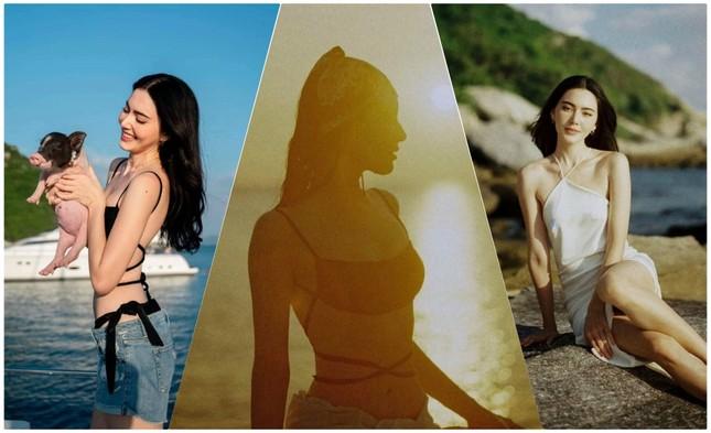 'Ma nữ đẹp nhất Thái Lan' Mai Davika đẹp mê hồn trong bộ ảnh bikini mới ảnh 2