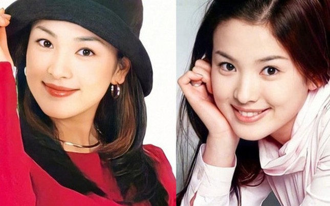 Ngây ngất ngắm nhan sắc 'cực phẩm' 20 năm trước của Song Hye Kyo ảnh 1