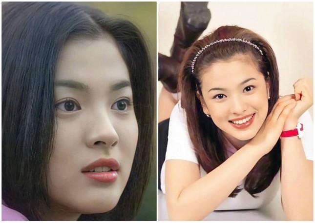 Ngây ngất ngắm nhan sắc 'cực phẩm' 20 năm trước của Song Hye Kyo ảnh 3
