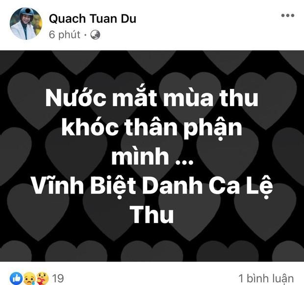 Nghệ sĩ Việt nghẹn ngào vĩnh biệt danh ca Lệ Thu: 'Mùa Thu đã tắt! ảnh 5