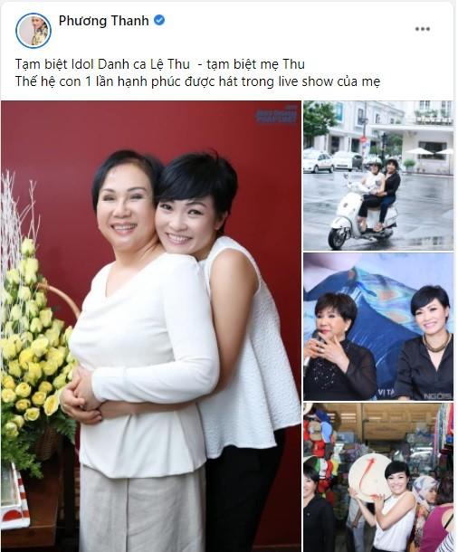 Nghệ sĩ Việt nghẹn ngào vĩnh biệt danh ca Lệ Thu: 'Mùa Thu đã tắt! ảnh 1