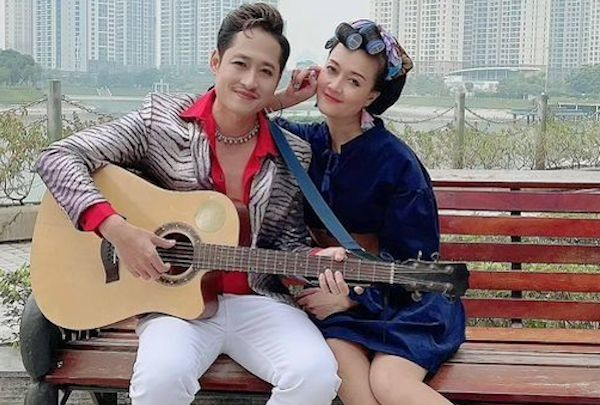 Vân Dung chia sẻ hình ảnh hóm hỉnh hậu trường phim 'Hướng Dương Ngược Nắng' ảnh 1