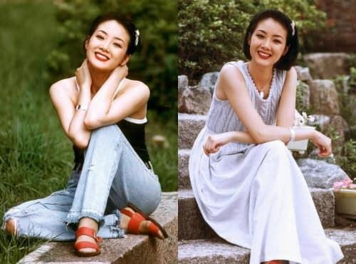 Nhan sắc mỹ nhân 'Bản tình ca mùa đông' Choi Ji Woo sau 19 năm ảnh 2