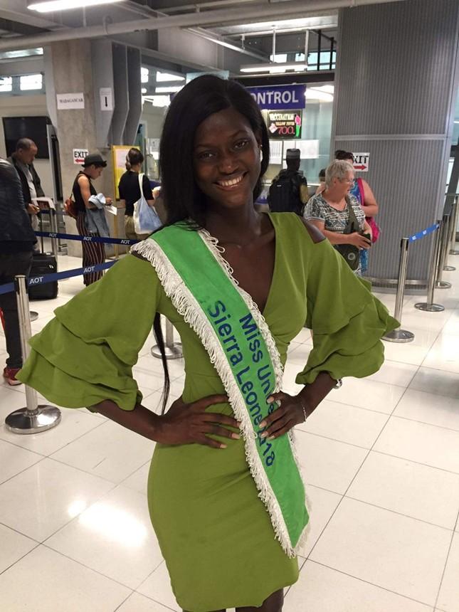 Thực hư tin thí sinh Hoa hậu Hoàn vũ mất tích trên đường đến Thái Lan ảnh 4