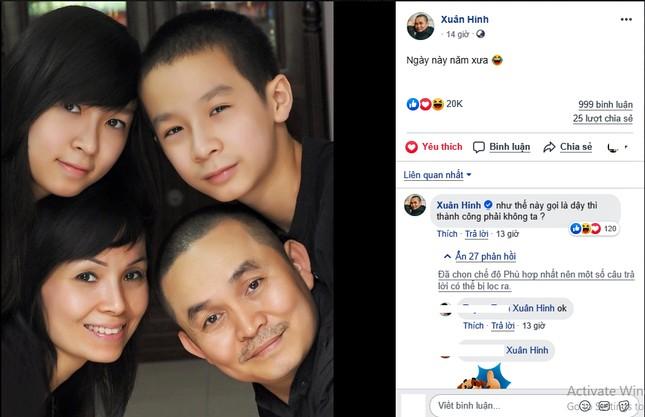Xuân Hinh chia sẻ ảnh gia đình 'ngày này năm xưa' gây 'sốt' ảnh 1
