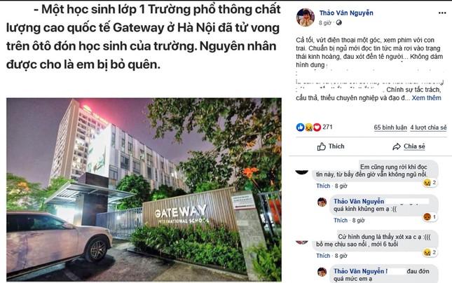 MC Thảo Vân, sao Việt phẫn nộ vụ học sinh Gateway tử vong vì bị quên trên ôtô ảnh 1