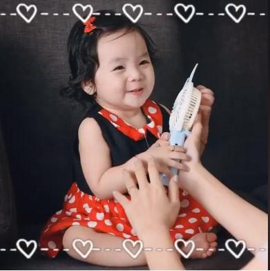 Vợ Hoài Lâm khoe con gái, nói gì khi bị cho coi chồng là cây ATM? ảnh 4