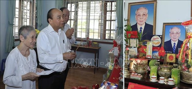 Thủ tướng dâng hương, tưởng nhớ các đồng chí nguyên lãnh đạo đã từ trần ảnh 3