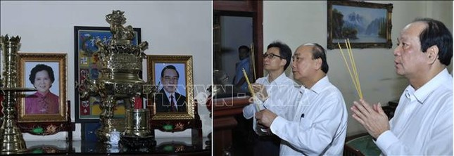 Thủ tướng dâng hương, tưởng nhớ các đồng chí nguyên lãnh đạo đã từ trần ảnh 6