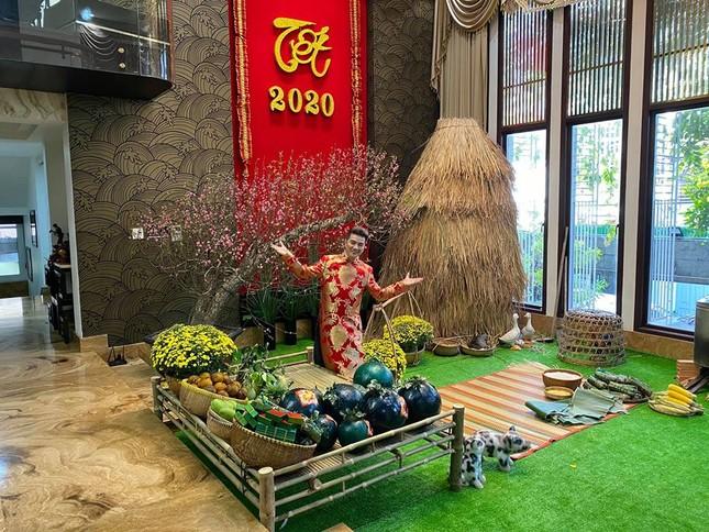 Sao Việt 27 Tết: Bảo Thanh cùng chồng đi chợ sắm đồ, Tuấn Hưng về thăm mẹ ảnh 1