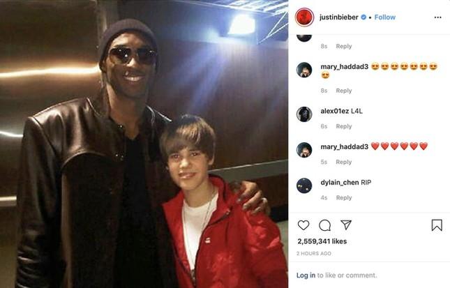 Sao quốc tế sốc khi huyền thoại bóng rổ Kobe Bryant và con gái qua đời ảnh 1