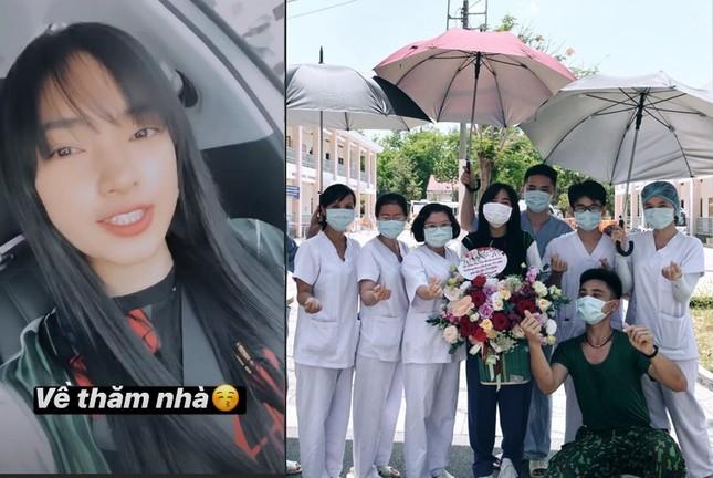 Showbiz 21/3: Châu Bùi gây 'sốt' khi quay lại bệnh viện dã chiến ở Củ Chi ảnh 1
