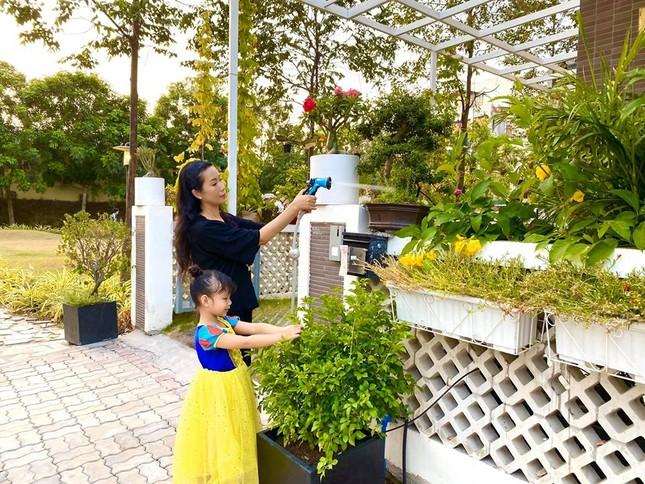 Phát 'sốt' với vườn cây xanh mướt trong biệt thự sang trọng của Trịnh Kim Chi ảnh 1