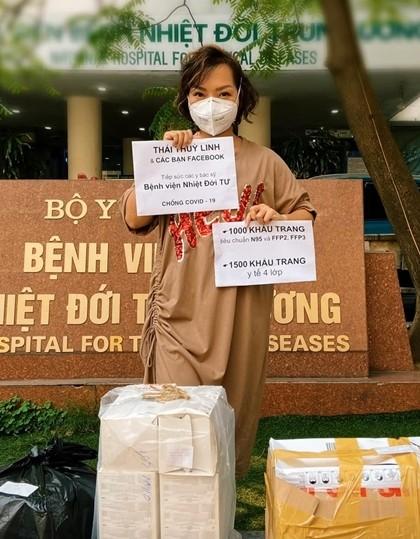 Những hành động đẹp giữa đại dịch COVID -19 của sao Việt ảnh 3