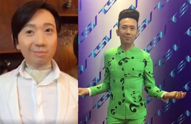 Showbiz 16/4: Hình ảnh tượng sáp của Trấn Thành nhận 'bão' like mạng xã hội ảnh 1