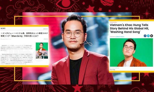 Billboard Mỹ và Nhật vinh danh Khắc Hưng với ca khúc 'Ghen cô Vy' ảnh 1