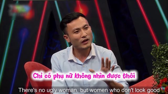 Chàng trai gây tranh cãi vì phát ngôn phân biệt vòng 3 phụ nữ trong show hẹn hò ảnh 2