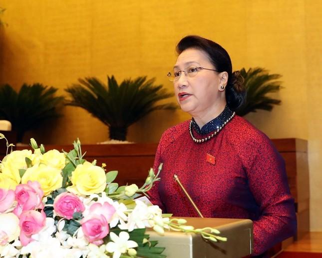 Lãnh đạo Đảng, Nhà nước dự phiên khai mạc kỳ họp Quốc hội ảnh 11