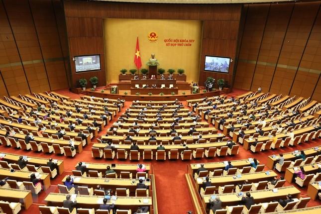 Lãnh đạo Đảng, Nhà nước dự phiên khai mạc kỳ họp Quốc hội ảnh 14